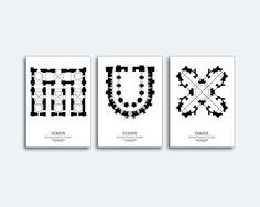 Domux UOIEA | Pau Joan Llop i Naya #type #architecture #typography