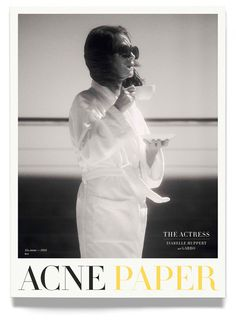 Atelje Altmann —Acne Paper #paper #magazine #cover #acne #glossy #bodoni #serif #typography