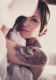 We Own The Sky #girl #eyes #tattoo #cute #she #beauty
