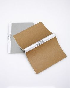 Blank Note Medium #design #type #note book