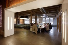 Teehan+Lax - Wall lights, so pretty. #office #architecture