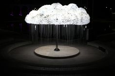 CLOUD #bulb #light #cloud #installation