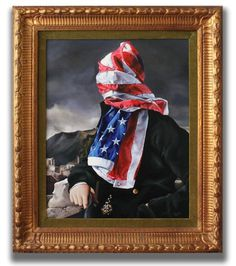 Portrait of The American Gentleman #art