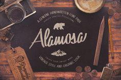 Alamosa – Handwritten Font Pair