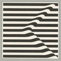 #wave #stripes #geometric #retro