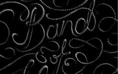 design work life » Sean Freeman Illustration and Lettering #lettering #rope