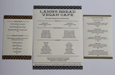 Lamb's Bread Vegan Cafxc3xa9 Identity #menu
