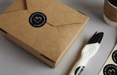 The Little Kitchen branding by A.N.D. Studio