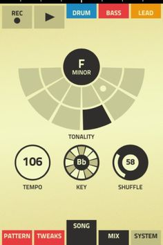 Propellerheads unveils Music Making App » ISO50 Blog – The Blog of Scott Hansen (Tycho / ISO50) #interface #ui #app #mobile #ios