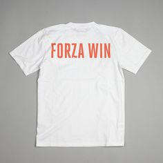 forza win | Arch MC #print #orange #back #tee
