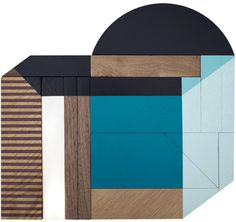 Drew Tyndell #wood #geometric #art