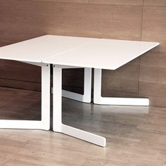 Ola-table | Minimalissimo #table #white #minimal