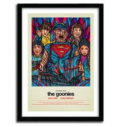 GOONIES by VAN ORTON #home #print #art #decoration
