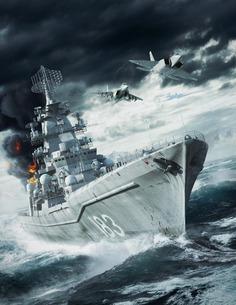 ArtStation - Naval War - Arctic Circle Key Art, Brendan McCaffrey