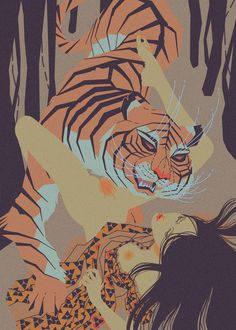 Fuck Yeah Illustrative Art! #tiger