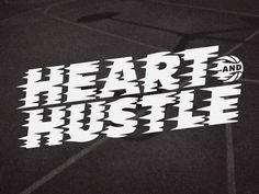Heart And Hustle on Behance #heart #hustle #graphic #shirt #orlando #magic #tee #basketball