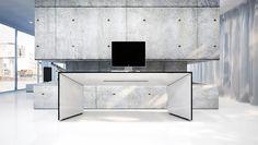 Commentor by Rechteck #futuristic #desk #minimal #minimalist #furturistic #future #workstation