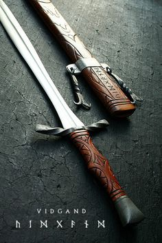 Vidgand 2 | Flickr - Photo Sharing! #medievil #weapon #sword #viking