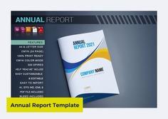 Annual Report 2021 Template by artico