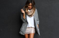 15 Ways to Style Tweed #fashion #woman #style