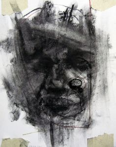 C.Kirk - Human 7   Daily Art Fixx Shop - Contemporary Art Gallery #mixedmedia #painting #art