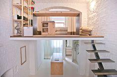 Small studio apartment design  R3Architetti   - www.homeworlddesign. com (1)