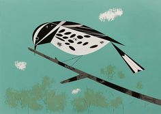 Charley Harper Bird Illustration. #vintage #modernism #charley harper #wildlife