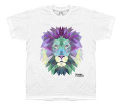 Strange Company Geo Lion T-Shirt #lion #t-shirt