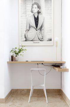 Workspace. House C.A.L. by Studio Oink. #minimalism #workspace