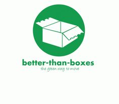 Better Than Boxes | Logo #than #arnold #design #graphic #moving #boxes #logo #better #green