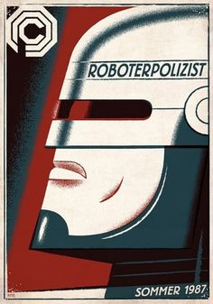 Robocop | Reelizer #propaganda #russian #robocop #travis #poster #german #pitts