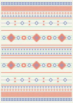 Navajo Two Art Print #indian #navajo #tribal