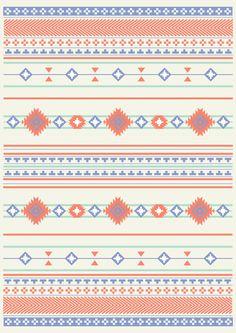 Navajo Two Art Print #indian #navajo #tribal