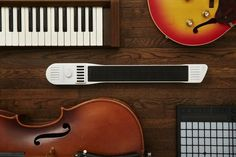 Anyone can create music with INSTRUMENT 1 by Artiphon, a portable multipurpose instrument for the digital age. #modern #design #product #industrial #innovative
