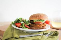 SWEET POTATO VEGGIE BURGERS #burger