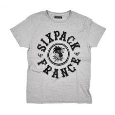 Sixpack France - Réveil Matin Tee Grey #shirt #tees #graphic #typography
