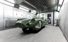 1959 aston martin DBR1 1:1 scale le mans replica by evanta motors #retro #car