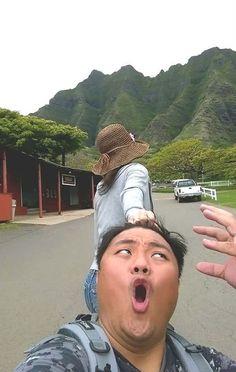 Parody of Taiwanese Couple #FollowMeTo meme