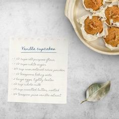 Cupcake recipe mock up Free Psd. See more inspiration related to Mockup, Template, Leaf, Web, Website, Cupcake, Mock up, Dessert, Templates, Website template, Recipe, Mockups, Up, Web template, Vanilla, Realistic, Real, Web templates, Mock ups, Mock and Ups on Freepik.