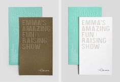 Design Work Life » cataloging inspiration daily #fund #jamie #print #emmas #mitchell #hospital #childrens #raising #typography