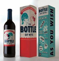 Packaging  Princess Bride Wine