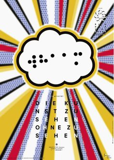 Daniel Gumbert #poster #round #dot #blind #frankfurt