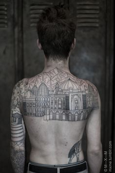 Temple In The Sky #tattoo #ink