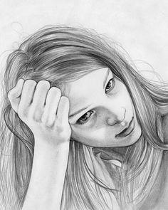 Misc. Portraits on the Behance Network #jenny #mrtsell #illustrator #swedish #illustration #portraits #drawing