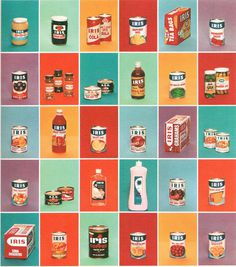 All sizes | Thriftimart's finest | Flickr Photo Sharing! #packaging #illustration
