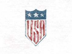 U.S.A. Seal #graphic design #typography #lettering #usa