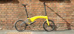 #bike #foldingbike #cycling #cycle #ride #yellow #London