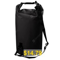 PVC #Waterproof #Suitcase #Dampproof #Multipurpose #for #Outdoor #Travel #- #BLACK