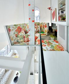 Artistic and fun interior in penthouse