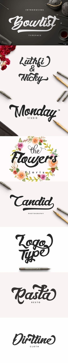 Bowlist – Logo Type by dirtylinestudio